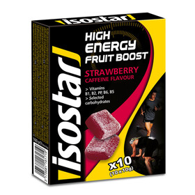 Isostar High Energy Fruit Boost - Nutrition sport - Strawberry 100g